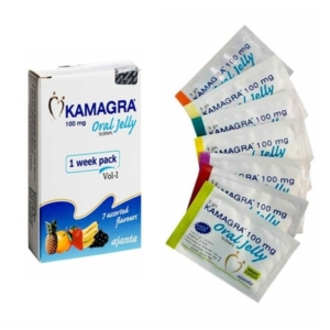 Kamagra Oral Jelly, 7 sachets, 100mg each
