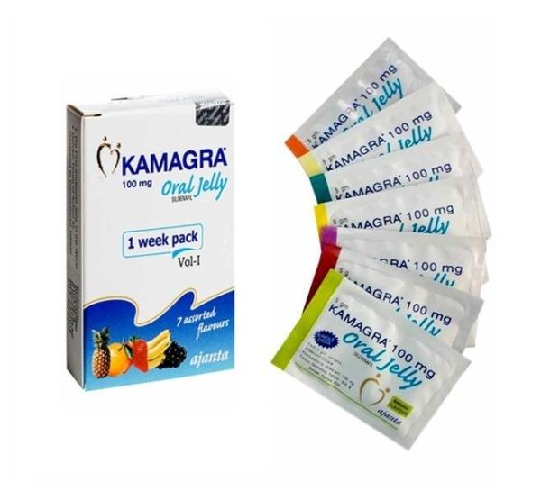 Kamagra Oral Jelly, 7 sachets, 100mg each
